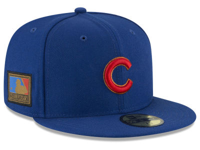 Chicago Cubs New Era MLB Ultimate Patch Collection 125th Anniversary 59FIFTY Cap