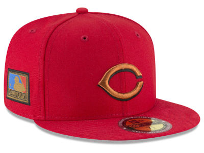 Cincinnati Reds New Era MLB Ultimate Patch Collection 125th Anniversary 59FIFTY Cap