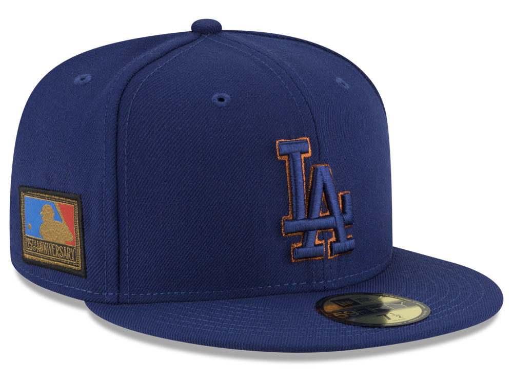 32a4662101c Los Angeles Dodgers New Era MLB Ultimate Patch Collection 125th Anniversary 59FIFTY  Cap
