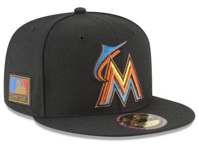 Miami Marlins New Era MLB Ultimate Patch Collection 125th Anniversary 59FIFTY Cap
