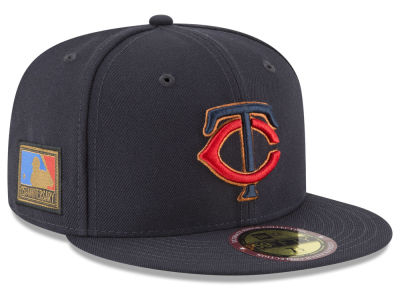 Minnesota Twins New Era MLB Ultimate Patch Collection 125th Anniversary 59FIFTY Cap