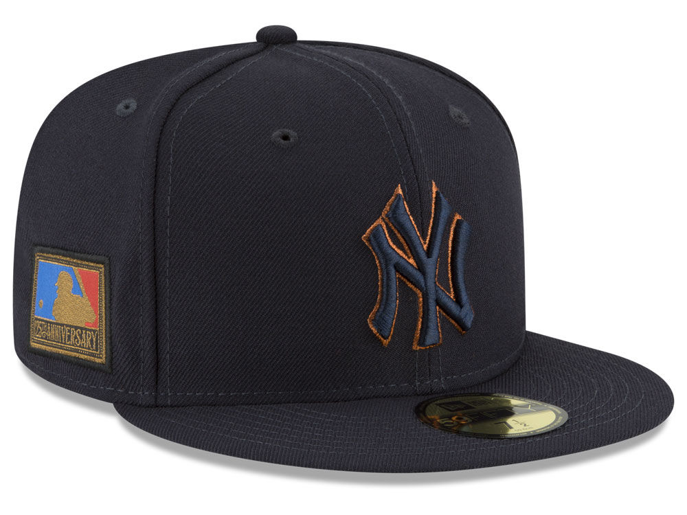 a7ddd4c8c94551 ... hat black olive clothing; new york yankees new era mlb ultimate patch  collection 125th anniversary 59fifty cap lids