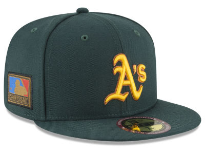 Oakland Athletics New Era MLB Ultimate Patch Collection 125th Anniversary 59FIFTY Cap