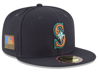 Seattle Mariners New Era MLB Ultimate Patch Collection 125th Anniversary 59FIFTY Cap