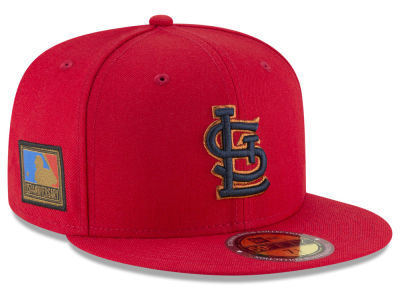 St. Louis Cardinals New Era MLB Ultimate Patch Collection 125th Anniversary 59FIFTY Cap