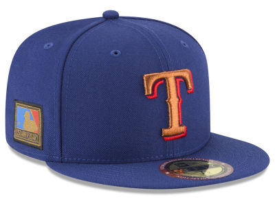 Texas Rangers New Era MLB Ultimate Patch Collection 125th Anniversary 59FIFTY Cap