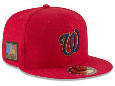 cheap for discount d9cdc 161ce Washington Nationals New Era MLB Ultimate Patch Collection 125th  Anniversary 59FIFTY Cap