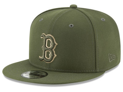 Boston Red Sox New Era MLB Fall Shades 9FIFTY Snapback Cap