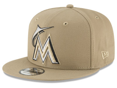 Miami Marlins New Era MLB Fall Shades 9FIFTY Snapback Cap