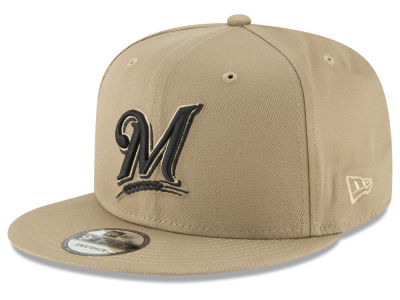 Milwaukee Brewers New Era MLB Fall Shades 9FIFTY Snapback Cap