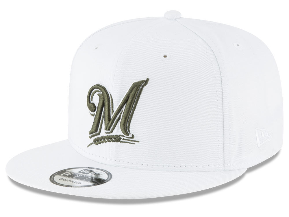 low priced dac40 ddce3 Milwaukee Brewers New Era MLB Fall Shades 9FIFTY Snapback Cap   lids.com
