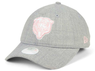 Chicago Bears New Era NFL Women's Custom Pink Pop 9TWENTY Cap