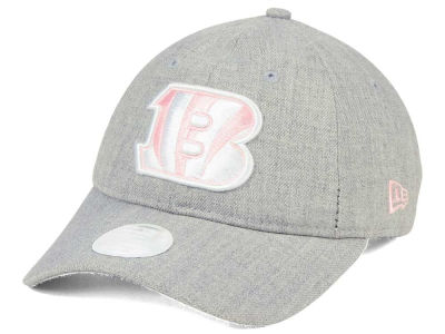 Cincinnati Bengals New Era NFL Women's Custom Pink Pop 9TWENTY Cap