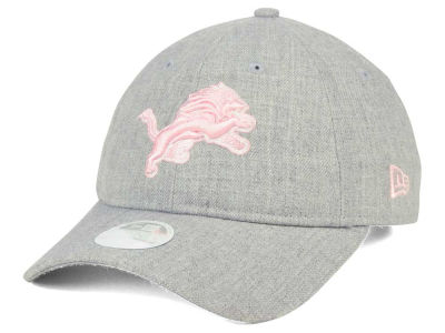 Detroit Lions New Era NFL Women's Custom Pink Pop 9TWENTY Cap