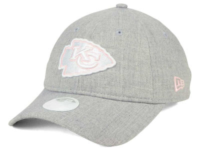 Kansas City Chiefs New Era NFL Women's Custom Pink Pop 9TWENTY Cap