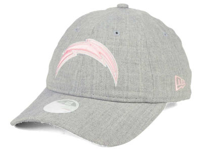 Los Angeles Chargers New Era NFL Women's Custom Pink Pop 9TWENTY Cap