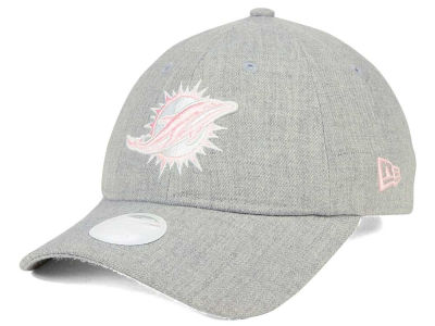 Miami Dolphins New Era NFL Women's Custom Pink Pop 9TWENTY Cap