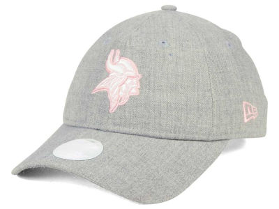 Minnesota Vikings New Era NFL Women's Custom Pink Pop 9TWENTY Cap