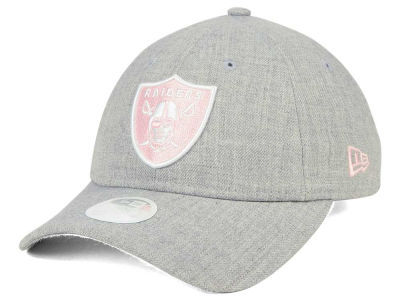 Oakland Raiders New Era NFL Women's Custom Pink Pop 9TWENTY Cap