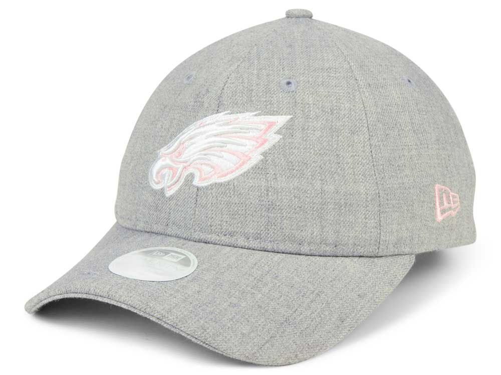 Philadelphia Eagles New Era NFL Women s Custom Pink Pop 9TWENTY Cap ... f74291e59