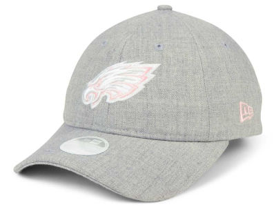Philadelphia Eagles New Era NFL Women's Custom Pink Pop 9TWENTY Cap