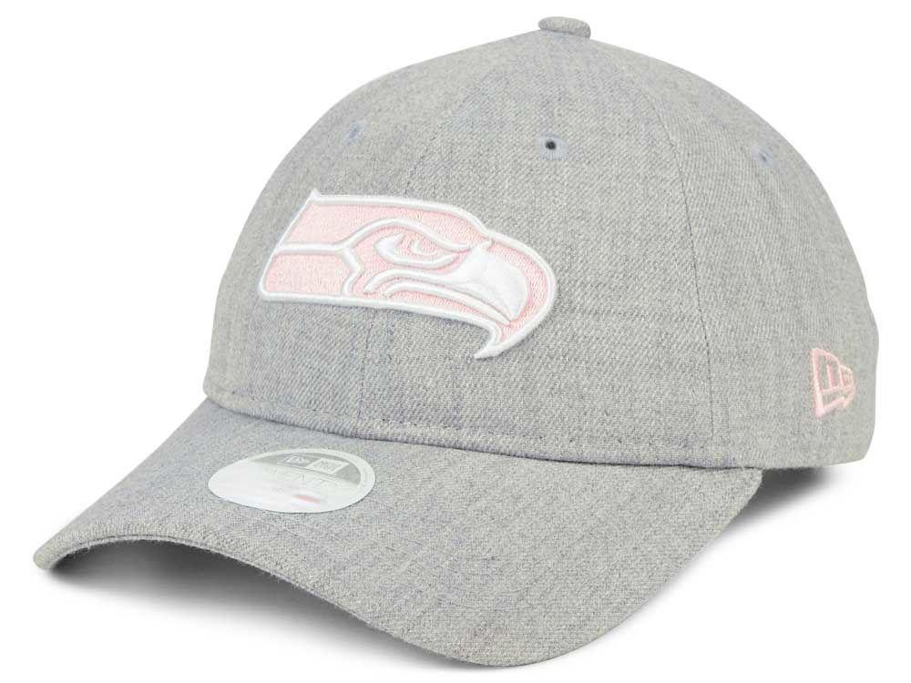 Seattle Seahawks New Era NFL Women s Custom Pink Pop 9TWENTY Cap ... b713178ca3