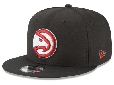 Atlanta Hawks New Era NBA Team Metallic 9FIFTY Snapback Cap