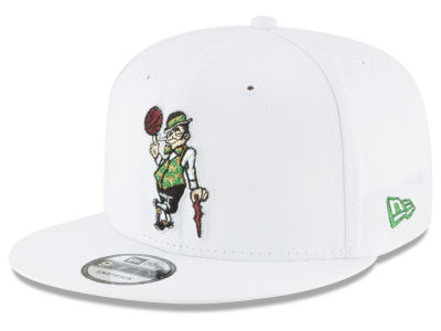 Boston Celtics New Era NBA Team Metallic 9FIFTY Snapback Cap