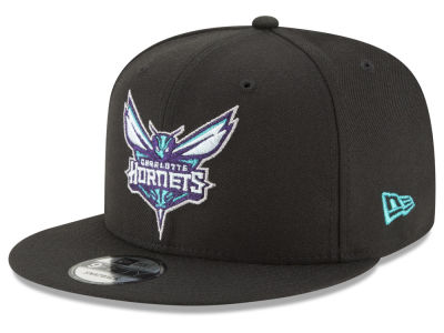 Charlotte Hornets New Era NBA Team Metallic 9FIFTY Snapback Cap