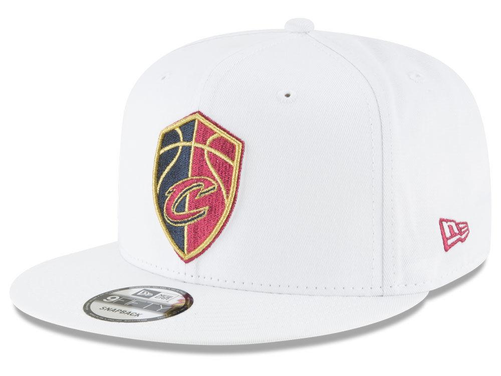 finest selection d2285 6cbf0 Cleveland Cavaliers New Era NBA Team Metallic 9FIFTY Snapback Cap   lids.com