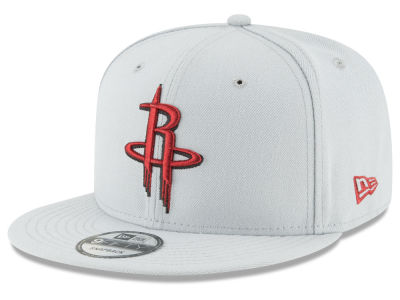 Houston Rockets New Era NBA Team Metallic 9FIFTY Snapback Cap
