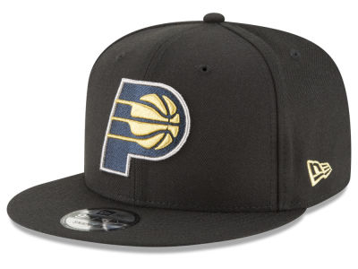 Indiana Pacers New Era NBA Team Metallic 9FIFTY Snapback Cap