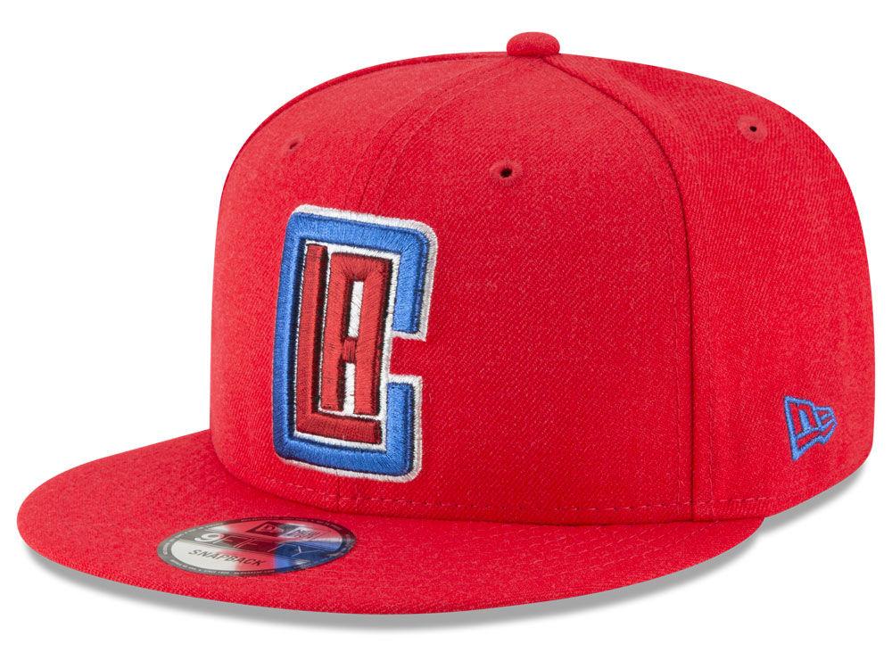 huge discount f8457 e60f7 where to buy los angeles clippers new era nba team metallic 9fifty snapback  cap be90b aeb44