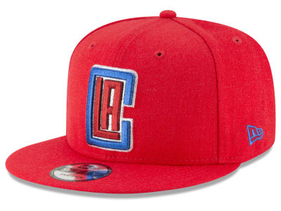 Los Angeles Clippers New Era NBA Team Metallic 9FIFTY Snapback Cap