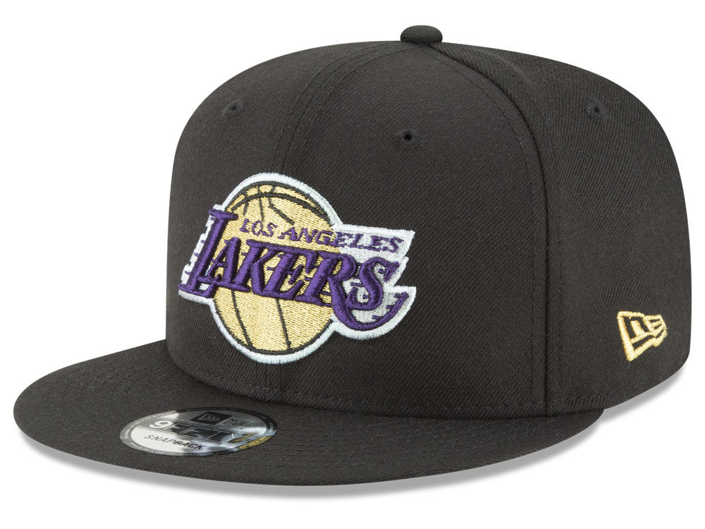 sports shoes cd96a b2923 coupon for los angeles lakers new era nba team metallic 9fifty snapback cap  e8f10 624e6