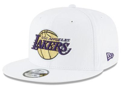 Los Angeles Lakers New Era NBA Team Metallic 9FIFTY Snapback Cap 739091746009