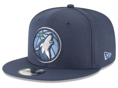 Minnesota Timberwolves New Era NBA Team Metallic 9FIFTY Snapback Cap