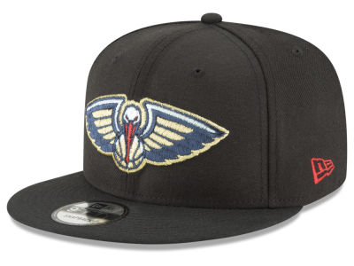 New Orleans Pelicans New Era NBA Team Metallic 9FIFTY Snapback Cap