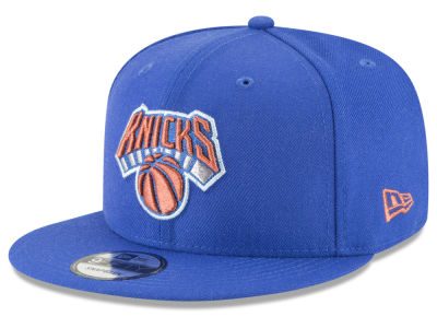 New York Knicks New Era NBA Team Metallic 9FIFTY Snapback Cap