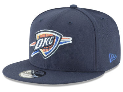 Oklahoma City Thunder New Era NBA Team Metallic 9FIFTY Snapback Cap