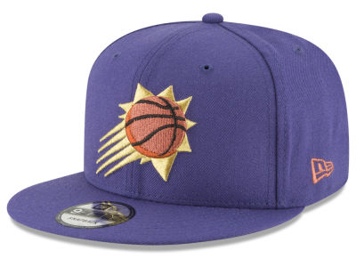 Phoenix Suns New Era NBA Team Metallic 9FIFTY Snapback Cap