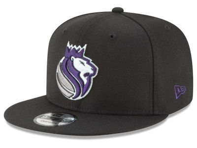 Sacramento Kings New Era NBA Team Metallic 9FIFTY Snapback Cap