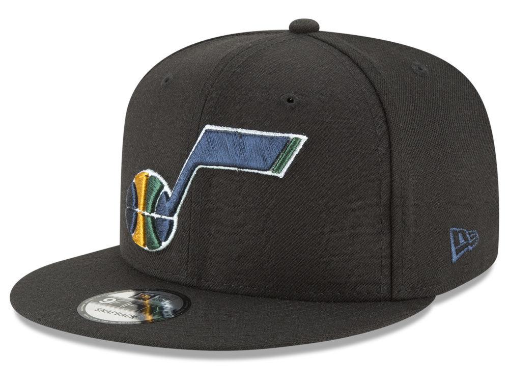 1aab514b6 Utah Jazz New Era NBA Team Metallic 9FIFTY Snapback Cap