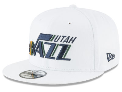 Utah Jazz New Era NBA Team Metallic 9FIFTY Snapback Cap