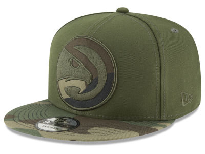 Atlanta Hawks New Era NBA Operation Camo 9FIFTY Snapback Cap