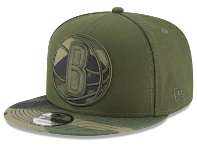 Brooklyn Nets New Era NBA Operation Camo 9FIFTY Snapback Cap