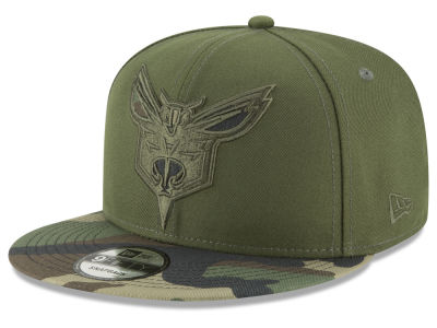 Charlotte Hornets New Era NBA Operation Camo 9FIFTY Snapback Cap