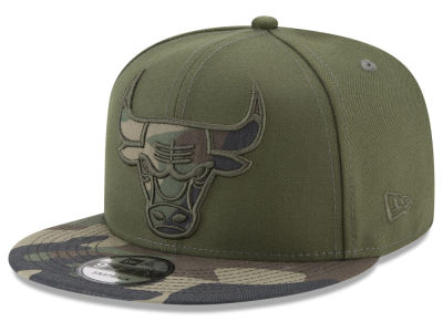 Chicago Bulls New Era NBA Operation Camo 9FIFTY Snapback Cap