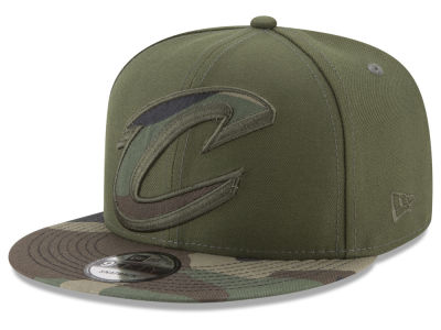 Cleveland Cavaliers New Era NBA Operation Camo 9FIFTY Snapback Cap