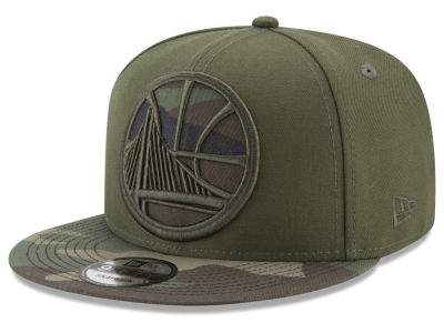 Golden State Warriors New Era NBA Operation Camo 9FIFTY Snapback Cap